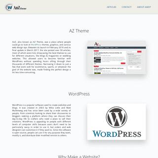 ANZ Website Themes