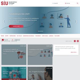 SIU - Società Italiana di Urologia