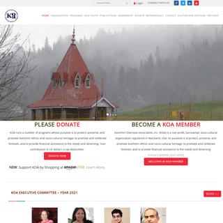 Home - Kashmiri Overseas Association, Inc.