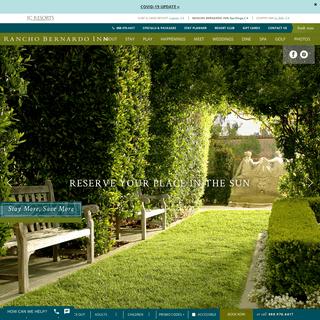 Rancho Bernardo Luxury Resort - Rancho Bernardo Inn