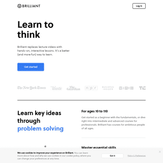 Brilliant - Learn to think
