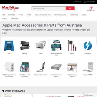 Apple Accessories Australia & Apple Mac Parts