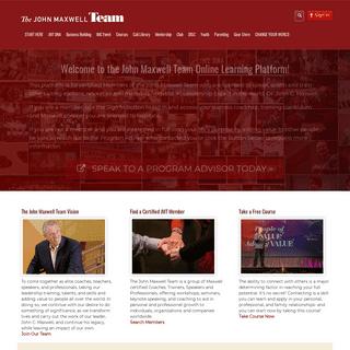 The John Maxwell Team Online PlatformThe John Maxwell Team Online Platform