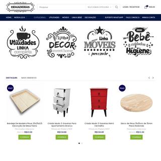 LojaDemadeiras – A sua loja de produtos em madeira desde 1993