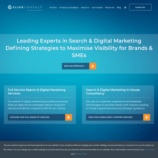 SEO & PPC Search and Digital Marketing Agency - Click Consult