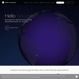 Hello future - Hedera Hashgraph