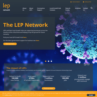 The LEP Network - Supporting all 38 LEPs across England