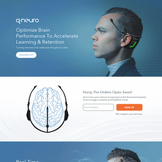 Qneuro - Smart Headset To Improve Mental Fitness and Wellness