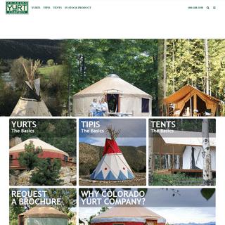 Home - Colorado Yurt Company