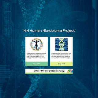 NIH Human Microbiome Project - Home