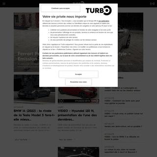 M6 Turbo - Actualité et essais auto, dossiers et émission TV