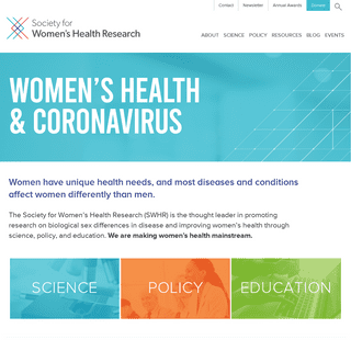 Society for Women`s Health Research
