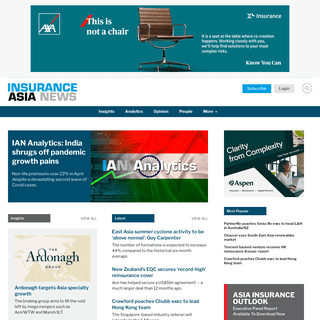 Home - InsuranceAsia News