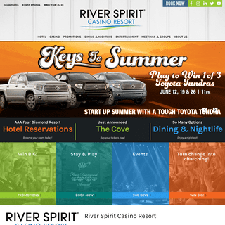River Spirit Casino Tulsa - River Spirit Casino Resort
