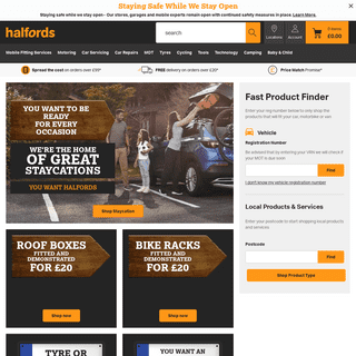Halfords - Bikes, Cycling, Tyres, MOT`s, Car Parts, Dash Cams and More