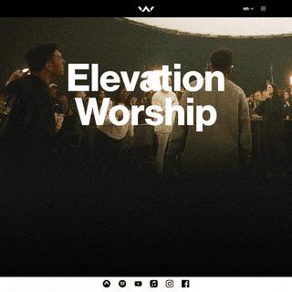 Home - Elevation Worship