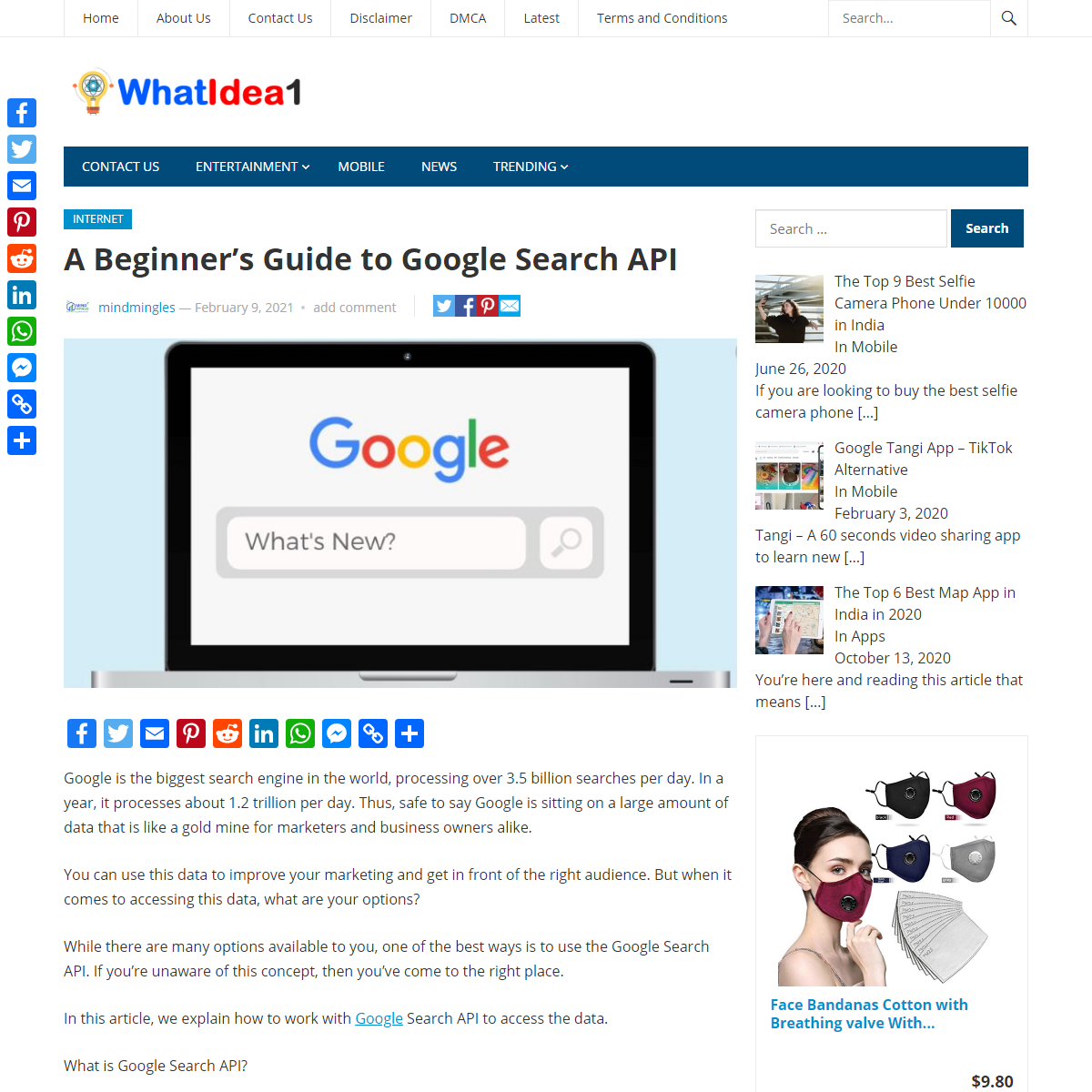 A Beginner's Guide to Google Search API - WhatIdea1