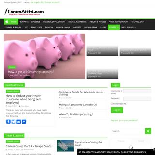 ForumAttivi.com – Write for Us - Instant Approval - General Niche