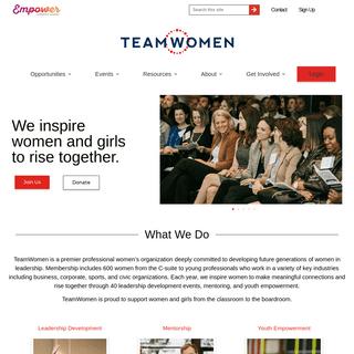 TeamWomen - TeamWomen