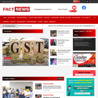 Punjab News - Latest News from Punjab - Latest Punjab News - Live Updates - TheFactNews