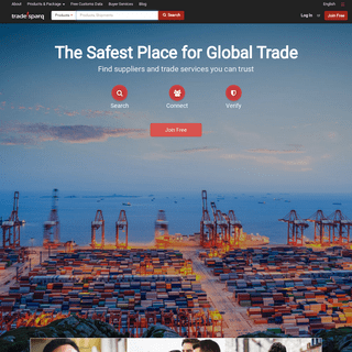 China Supplier & Manufacturer Reviews, Shipment Data & Products - Tradesparq