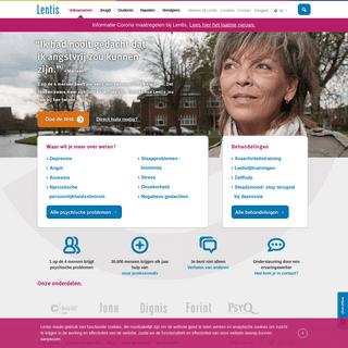 Lentis - GGZ expert Groningen - hulp bij psychische klachten