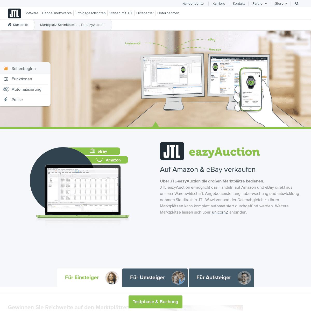 Bei Amazon & eBay verkaufen - Multi-Channel Vertrieb mit JTL-Software