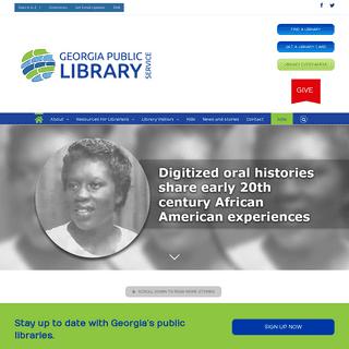 Georgia Public Library Service