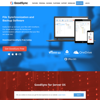 File Sync & Backup Software - GoodSync