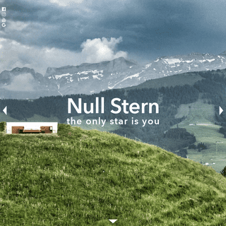 Null Stern - the only star is you