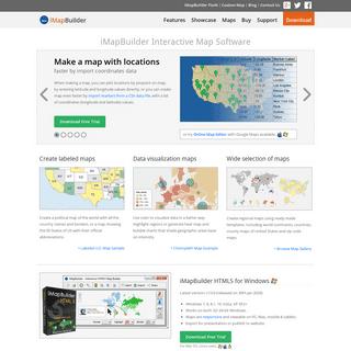 iMapBuilder - Create Interactive Map Software