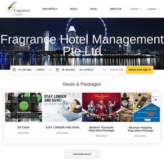 Singapore City - Fragrance Hotels