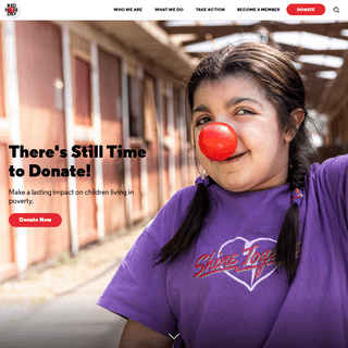 A Campaign to End Child Poverty - Red Nose Day USA