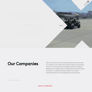 Lux Capital – Emerging science & tech venture capital