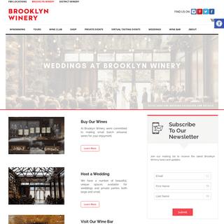 Brooklyn Winery - Urban Winery, New York Wines, Wedding Venue and Wine Bar