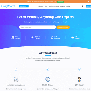 Online Courses with Experts for AWS, Python, Data Science, Selenium, RPA, Devops & More