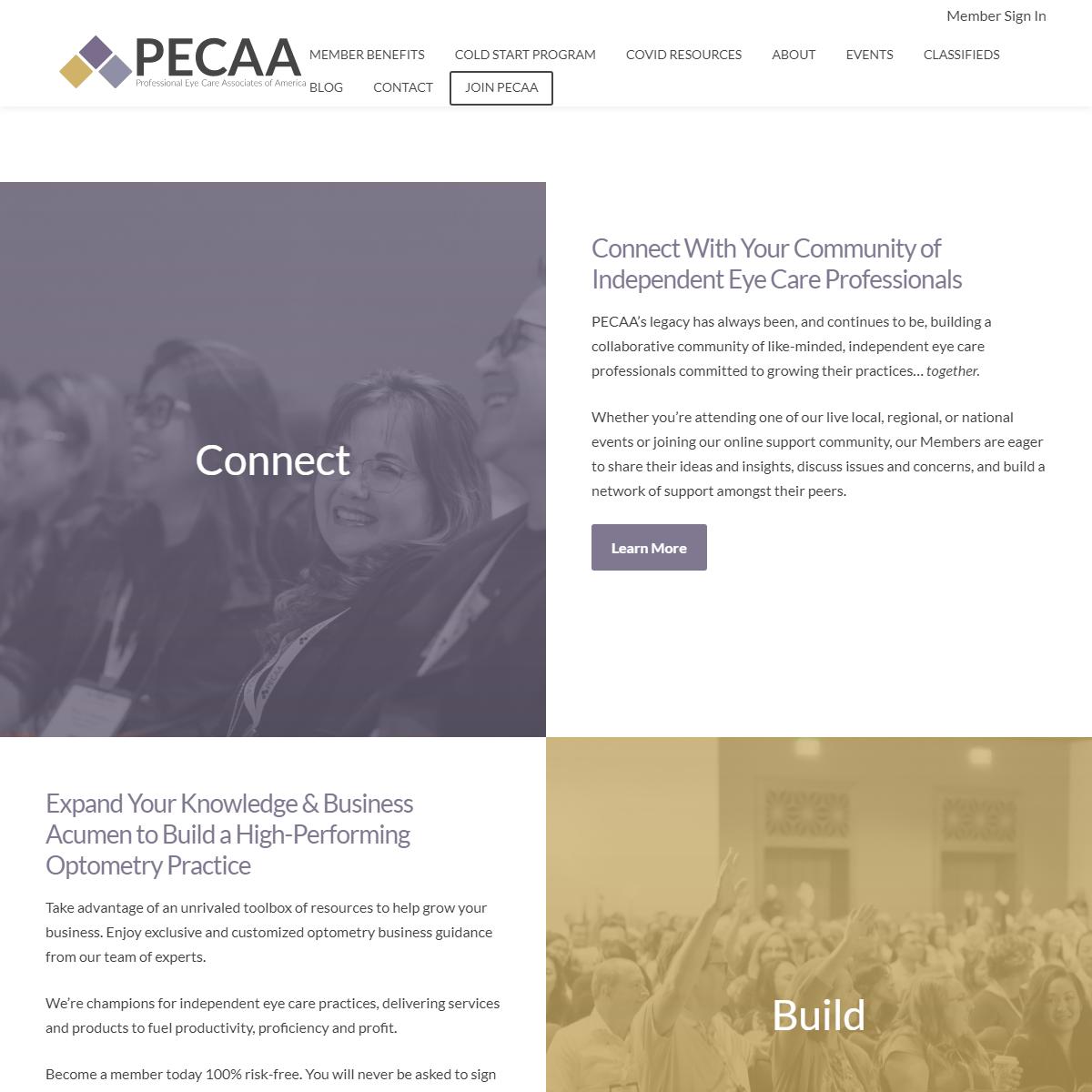 Home - PECAA - Professional Eye Care Associates of America