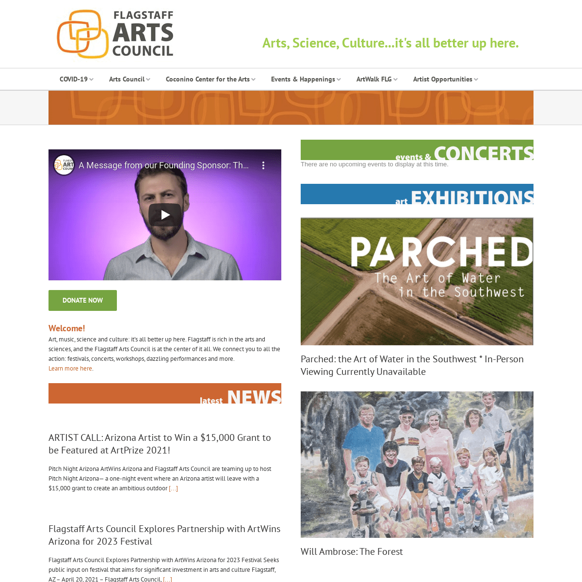Home - Flagstaff Arts Council