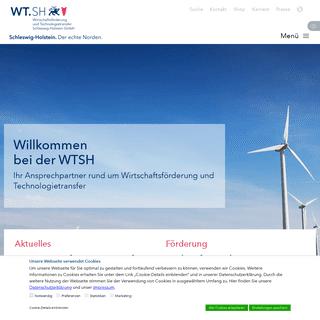 Startseite - WTSH - Wirtschaftsförderung und Technologietransfer Schleswig-Holstein GmbH