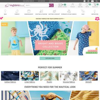 Buy fabrics online - Wide selection » Myfabrics.co.uk