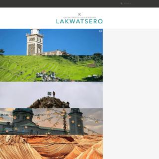 Lakwatsero - Adventure in Asia and Beyond!