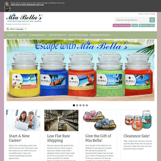 Scent-Sations Mia Bella`s scented candles, wax melters, & home fragrance products