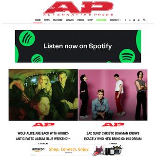 Alternative Press Magazine - The Latest Alternative Music News