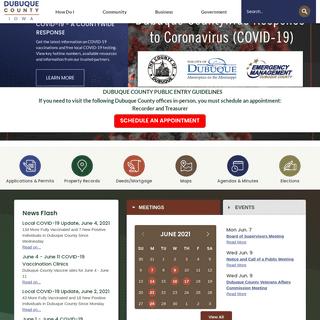Dubuque County, IA - Official Website