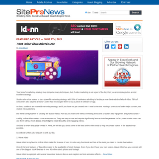 SiteProNews - Breaking News, Technology News, and Social Media News
