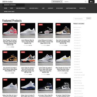 2020airjordans.com-Shop Best Deal 2020 Air Jordans Shoes