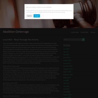 Abolition-Deterrage -