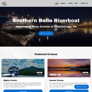 Southern Belle Riverboat - Chattanooga River Boat Cruises & Dining