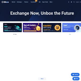 Bibox - Bitcoin - Ethereum - Cryptocurrency Exchange