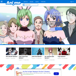 Discover Anime Shows to Watch - Ani.ME